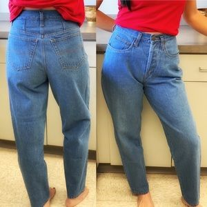 """VINTAGE FORENZA 25"""" WAIST - Button Fly Mom JEANS"""